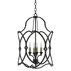 Currey and Company Charisma Lantern 9000-0024 - LOVECUP - 2