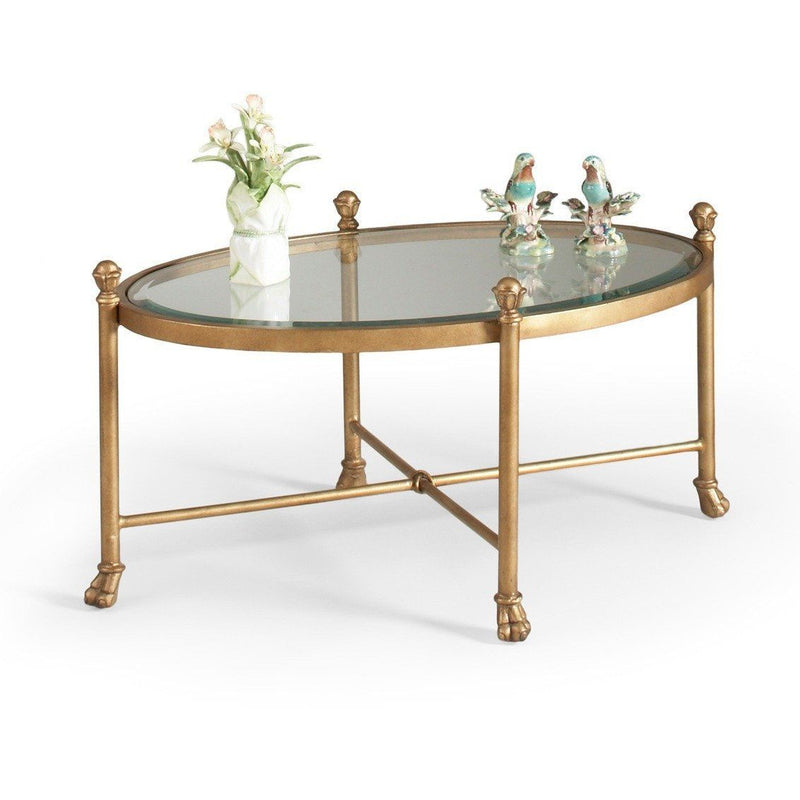 Chelsea Oval Cocktail Table - LOVECUP - 1