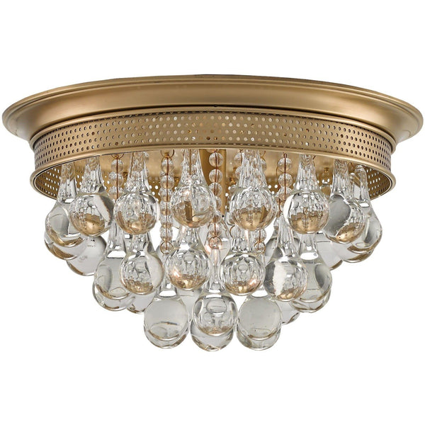 Currey and Company Worthing Flush Mount 9999-0002