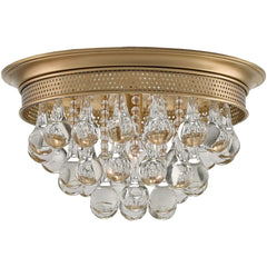 Currey and Company Worthing Flush Mount 9999-0002 - LOVECUP