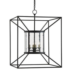 Currey and Company Ennis Lantern 9000-0022 - LOVECUP - 2