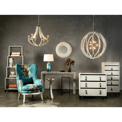 Currey and Company Saltwater Orb Chandelier 9000-0210 - LOVECUP