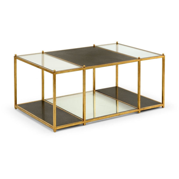 Chelsea House Directoire Coffee Table - Black 383378
