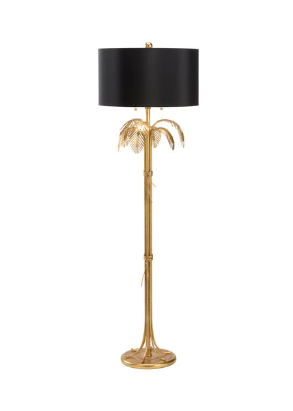 Chelsea House Fine Palm Floor Lamp - Gold 69566