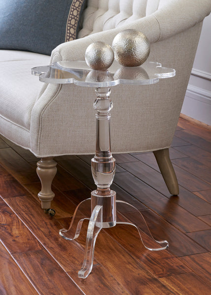 Chelsea House Mount Pleasant Acrylic Side Table 383664