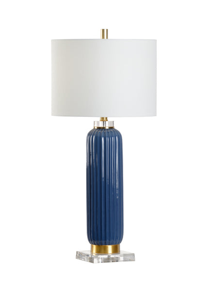 Chelsea House Samuel Ceramic Lamp with Acrylic Base 69956