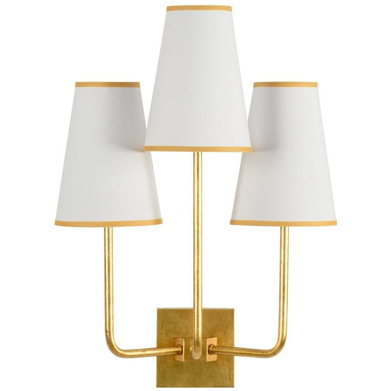 Chelsea House Wrightsville Sconce - Gold 69275 - LOVECUP