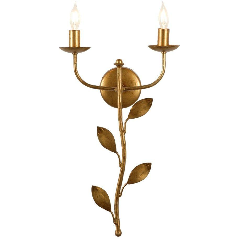 Chelsea House Botanical Leaf Sconce 68473 - LOVECUP