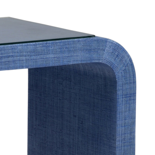 Chelsea House Waterfall Console - Blue 384206