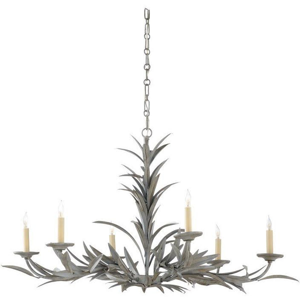 Chelsea House Laurel Chandelier - Gray 69279
