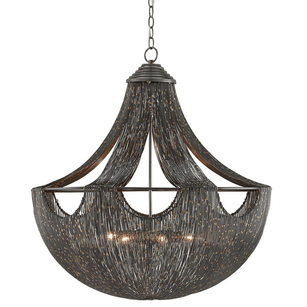 Currey and Company Eduardo Chandelier 9000-0018