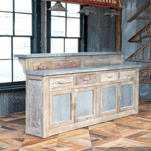 Lovecup Farmhouse Bar Grocery Counter L110