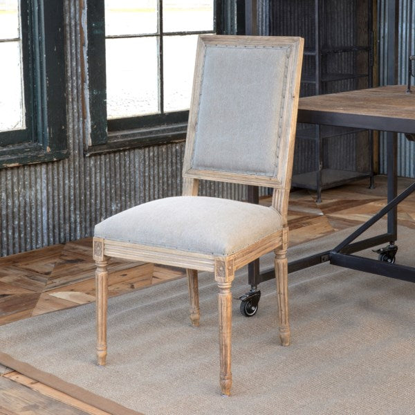 Lovecup Lightly Washed Oak Dining Chair L249