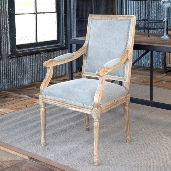 Lovecup Oak Dining Arm Chair L250
