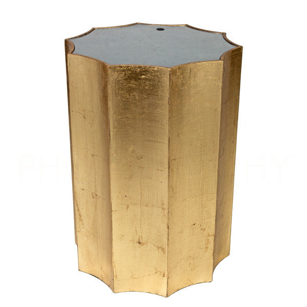 Aidan Gray Emmeline Gold Side Table F118 GLD