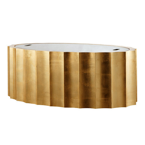 Aidan Gray Emmeline Gold Coffee Table F119 GLD
