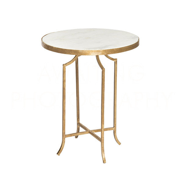 Aidan Gray Fuji Marble Occasional Table F277