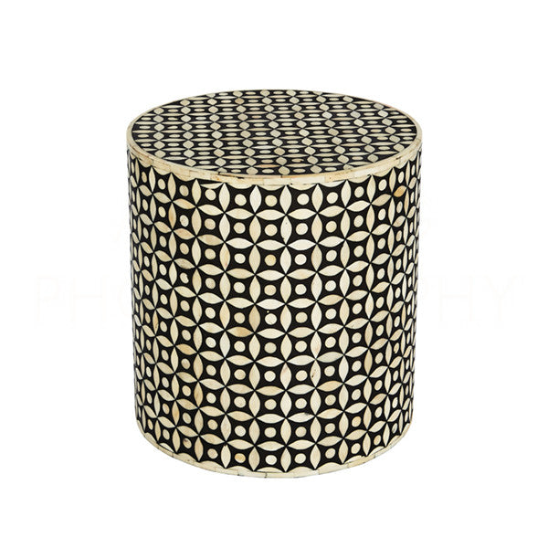 Aidan Gray Round Side Table Stool F375