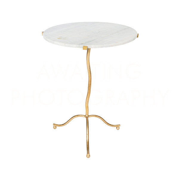 Aidan Gray Kalmar Gold Occasional Table F390
