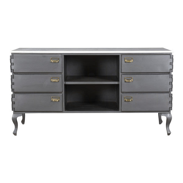 Aidan Gray Maria Cabinet with Marble Top F501