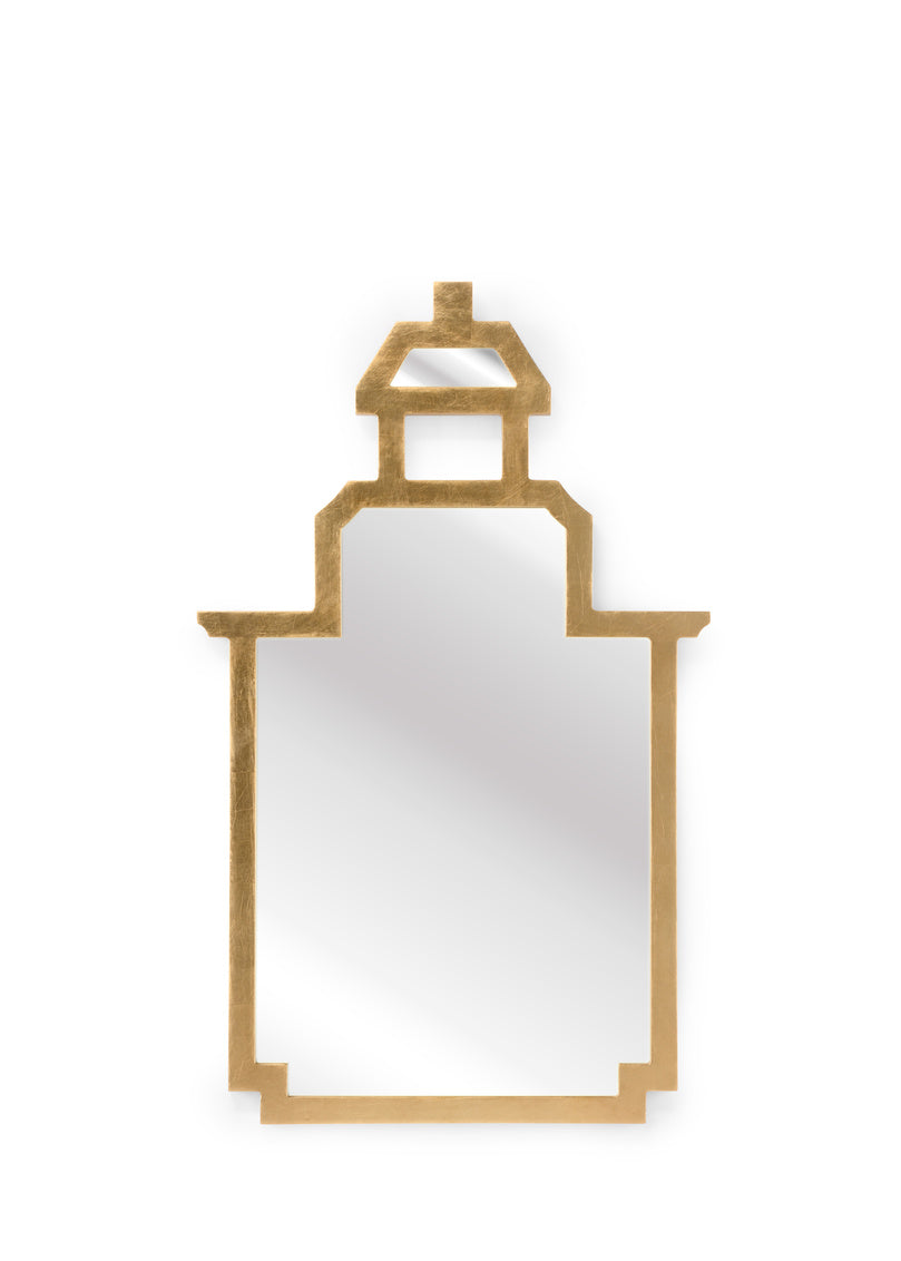 Chelsea House Small Pagoda Mirror - Gold 384750