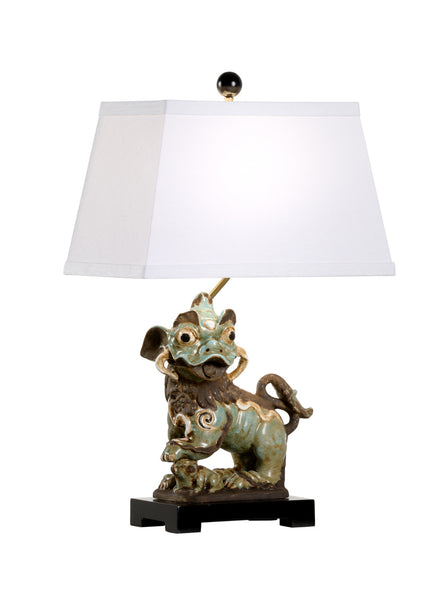 Chelsea House Chinese Dog Lamp - Right 70006