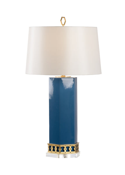 Shayla Copas Designs Miriam Table Lamp - Blue 69763