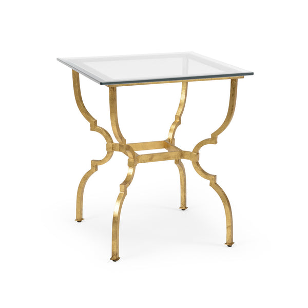Chelsea House Norwich Side Table - Gold 381995