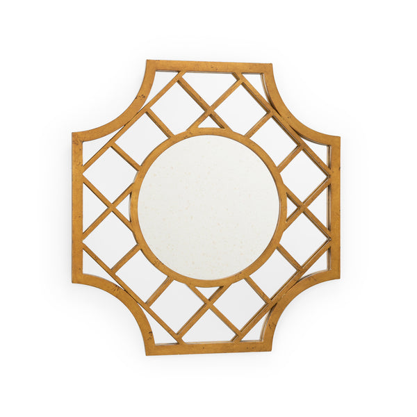 Chelsea House Lattice Mirror - Gold 382446