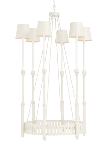 Matthew Frederick Georgie Chandelier White 65733