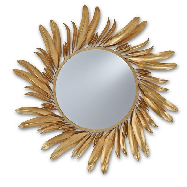 Currey and Company Folium Mirror 1108 - LOVECUP
