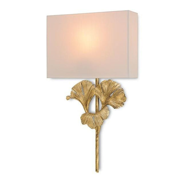 Currey and Company Gingko Wall Sconce 5178