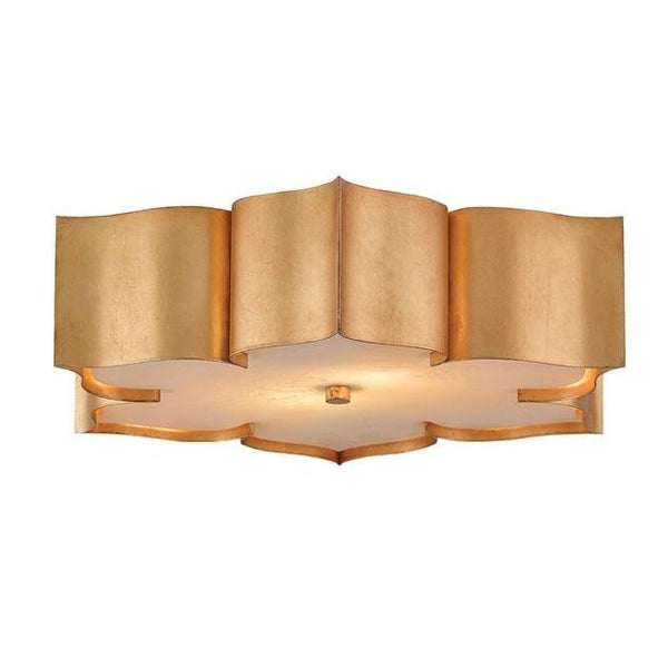 Currey and Company Grand Lotus Flush Mount Ceiling Light 9999-0010 - LOVECUP - 2