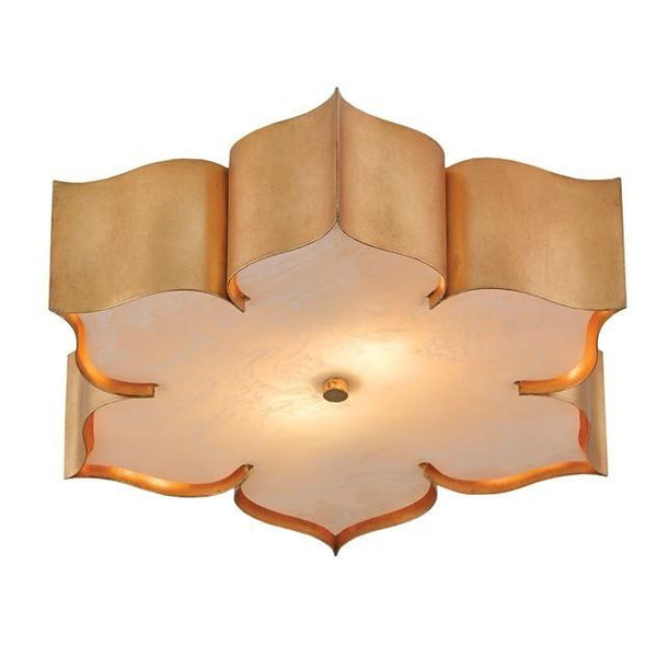 Currey and Company Grand Lotus Flush Mount Ceiling Light 9999-0010