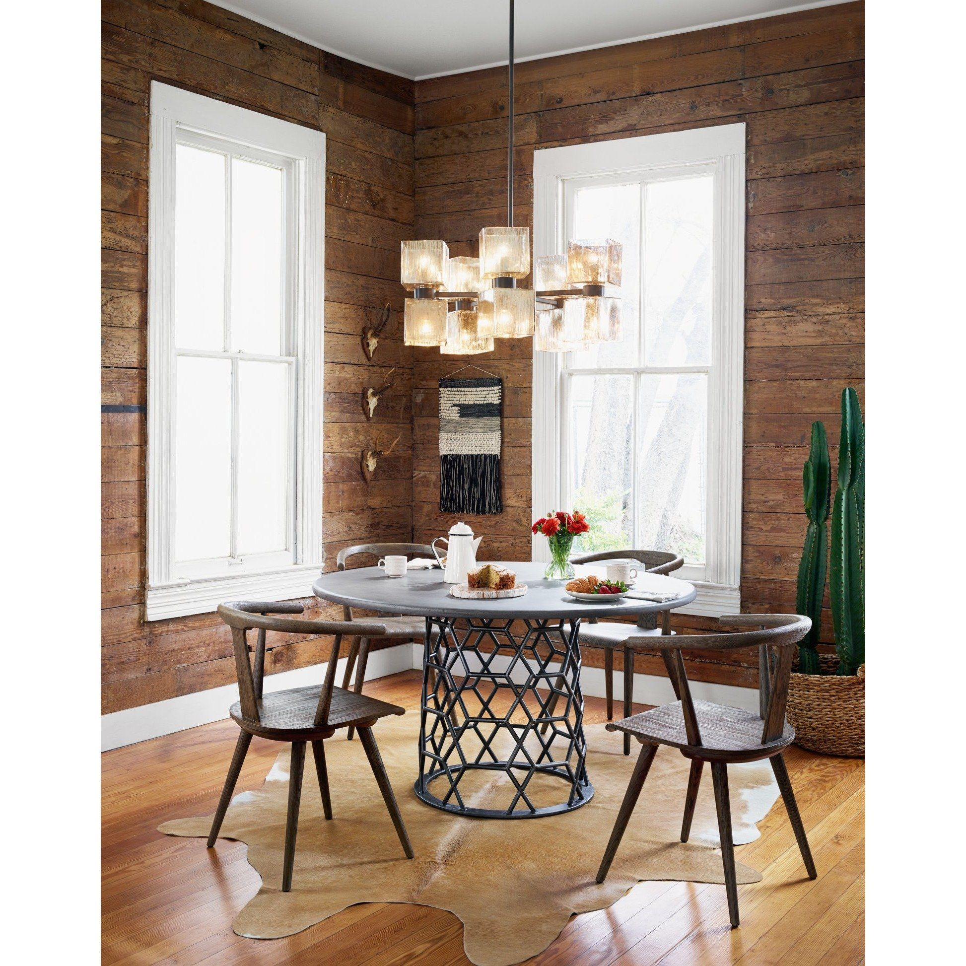 Lovecup Hex Concrete Dining Table LOVECUP