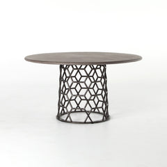 Lovecup Hex Concrete Dining Table - LOVECUP