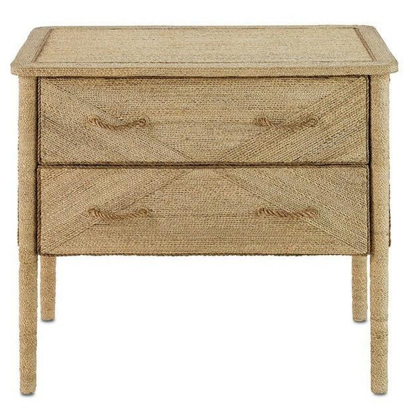 Currey and Company Kaipo Two Drawer Chest 3000-0011