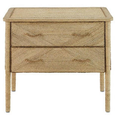 Currey and Company Kaipo Two Drawer Chest 3000-0011 - LOVECUP
