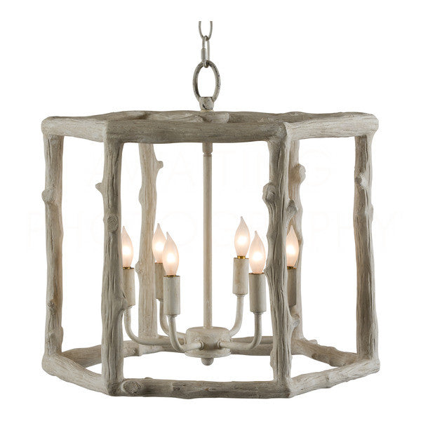 Aidan Gray Short Twig Hexagon Chandelier L360 CHAN