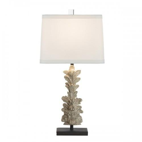 Aidan Gray Hestal Fragment Carved Table Lamp, L410