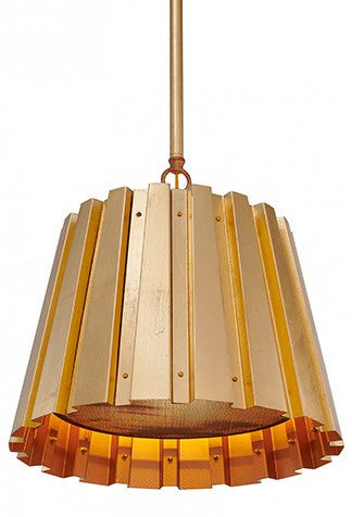 Aidan Gray Medium Spencer Gold Chandelier L716M GLD