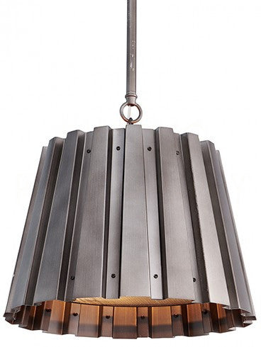Aidan Gray Medium Spencer Gun Metal Chandelier L716M GM