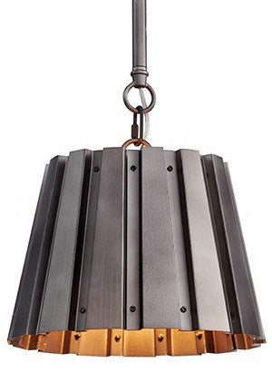 Aidan Gray Small Spencer Gun Metal Chandelier L716S
