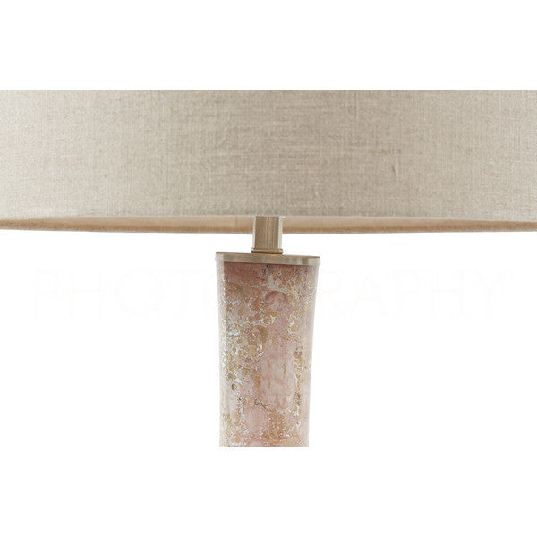 Aidan Gray Blush Table Lamp L765