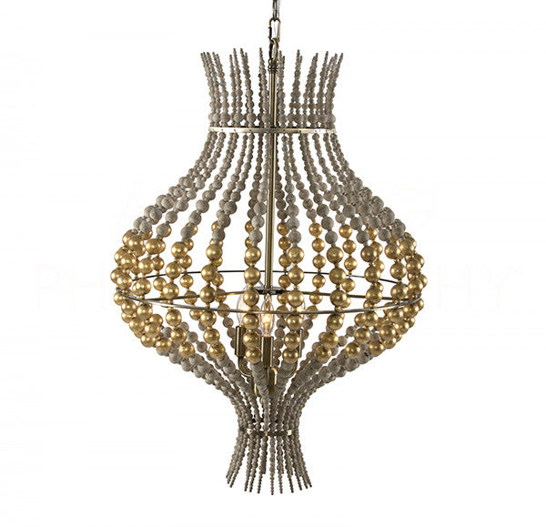Aidan Gray Grand Onion Gold Chandelier L832L