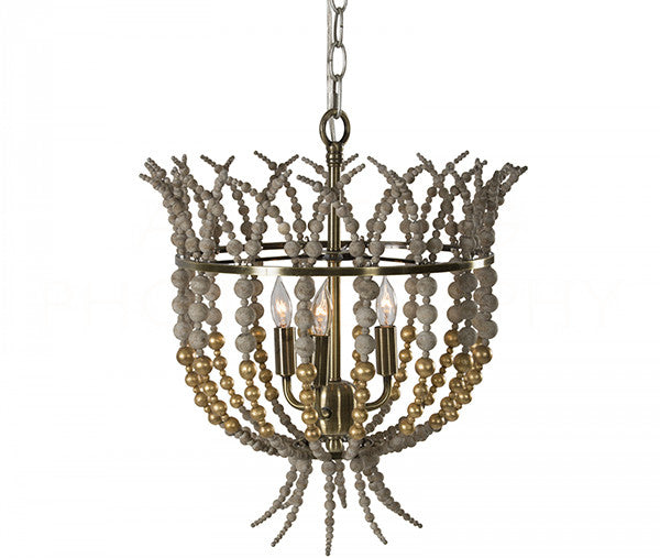 Aidan Gray Crown Top Gold Chandelier L836 CHAN GLD