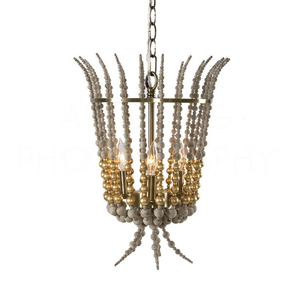 Aidan Gray Torch Gold Chandelier L837 CHAN GLD