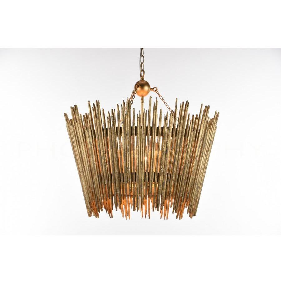 CROWN & GLORY CHANDELIER, L860 GOLD - LOVECUP