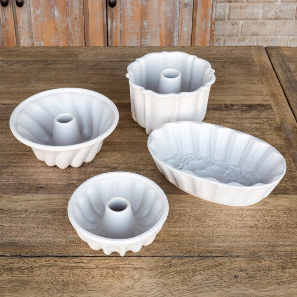 Lovecup Pottery Baking Molds Set of 4 L079