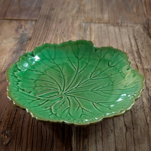 Lovecup Pottery Leaf Plate, Set of 4 L323